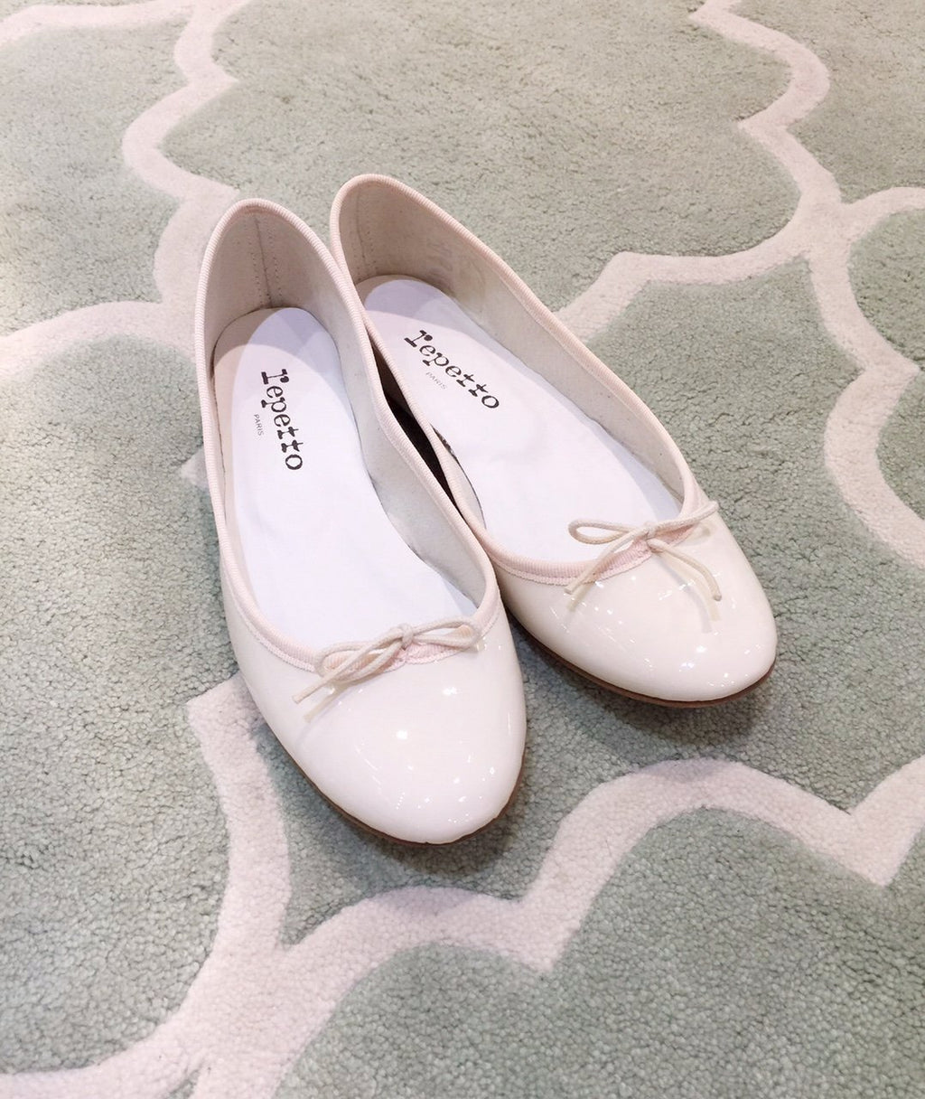 Repetto Paris - Cendrillon Ballet Flats Cream White