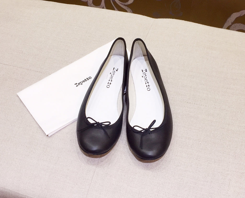 Repetto Paris - Cendrillon Nappa Black