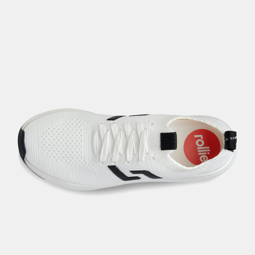 Rollie - Bolt White Sneaker