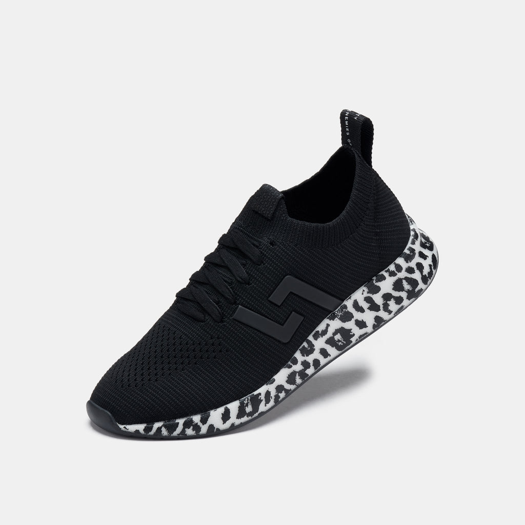 Rollie - Bolt Leopard Sole Sneaker