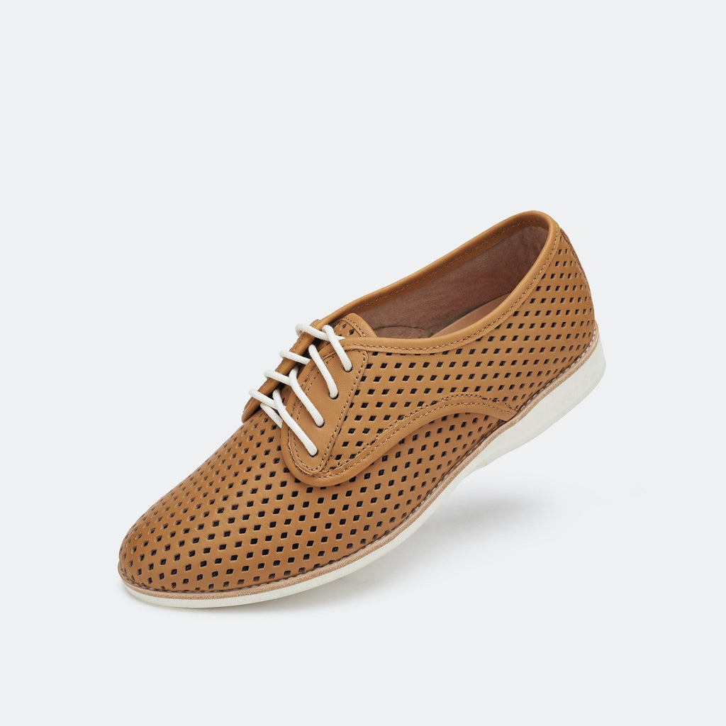Rollie - Derby Punch Overlay Tan/Black