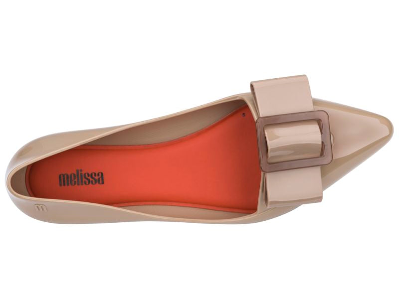 Melissa - Pointy III Dark Beige Gloss
