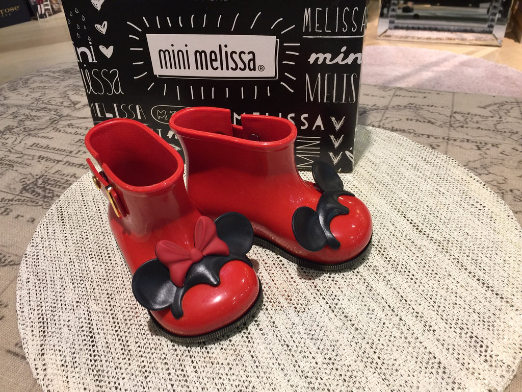 Mini Melissa - Sugar Rain Disney Twins Red