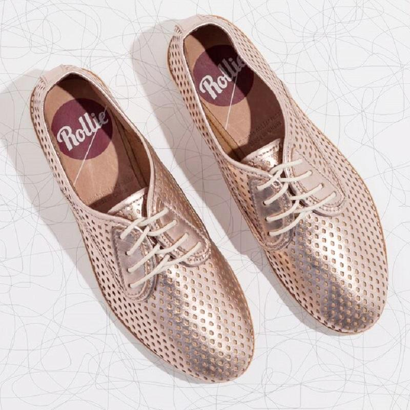 Rollie Nation Durby Rose Gold at Ballerine Ballerinas Brisbane