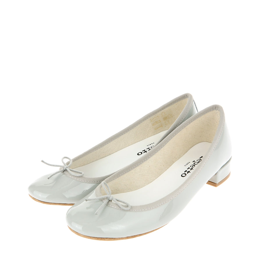 Repetto Paris Jane Low Heel in Grey at Ballerine Ballerinas Brisbane
