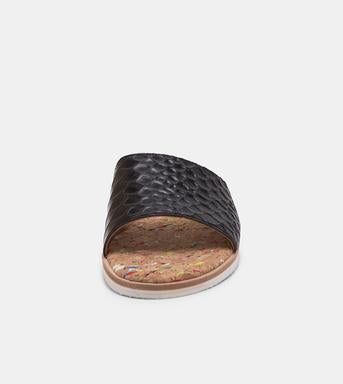 Rollie - Sandal Slide Black Croc