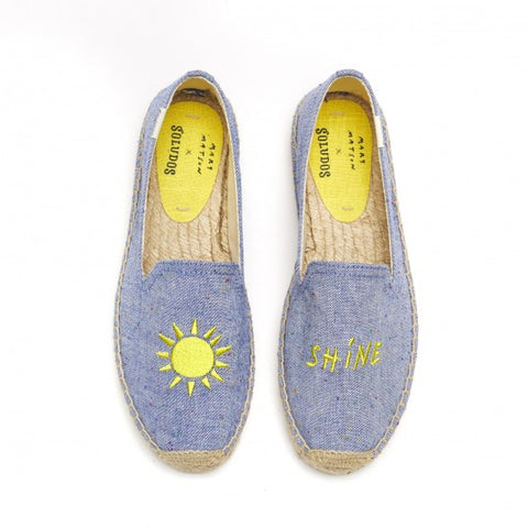 Soludos - Sunshine Embroidered Platform Espadrille