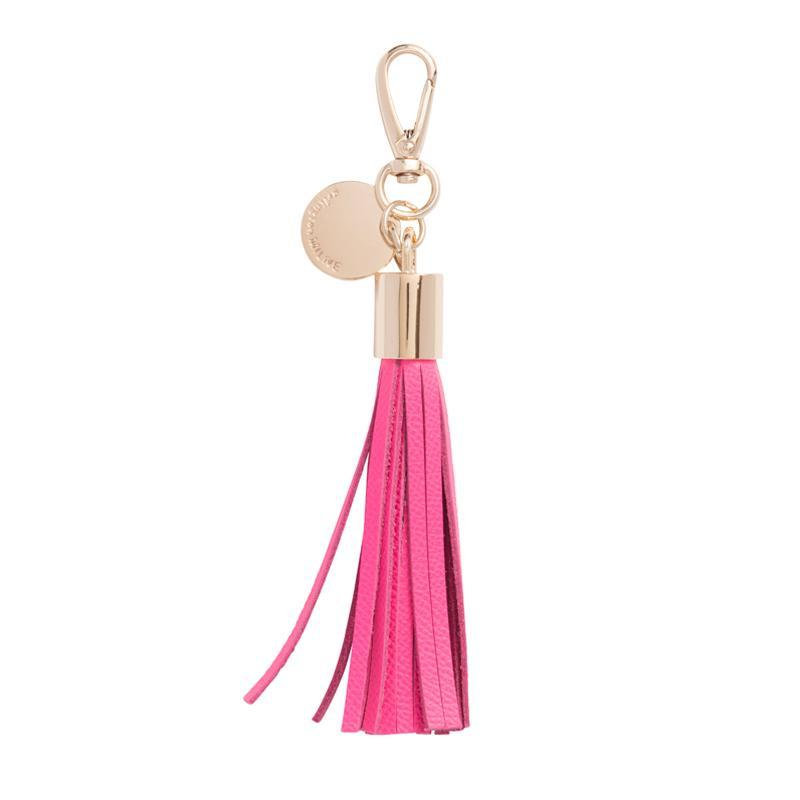 Arlington Milne - Tassel Leather (Hot Pink)