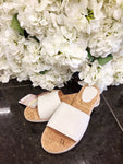Rollie - Sandal Slide White Leather