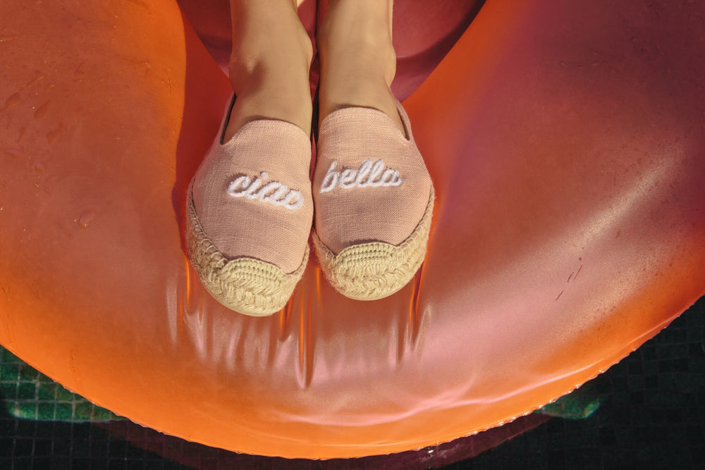 Soludos - Ciao Bella Platform Smoking Slipper