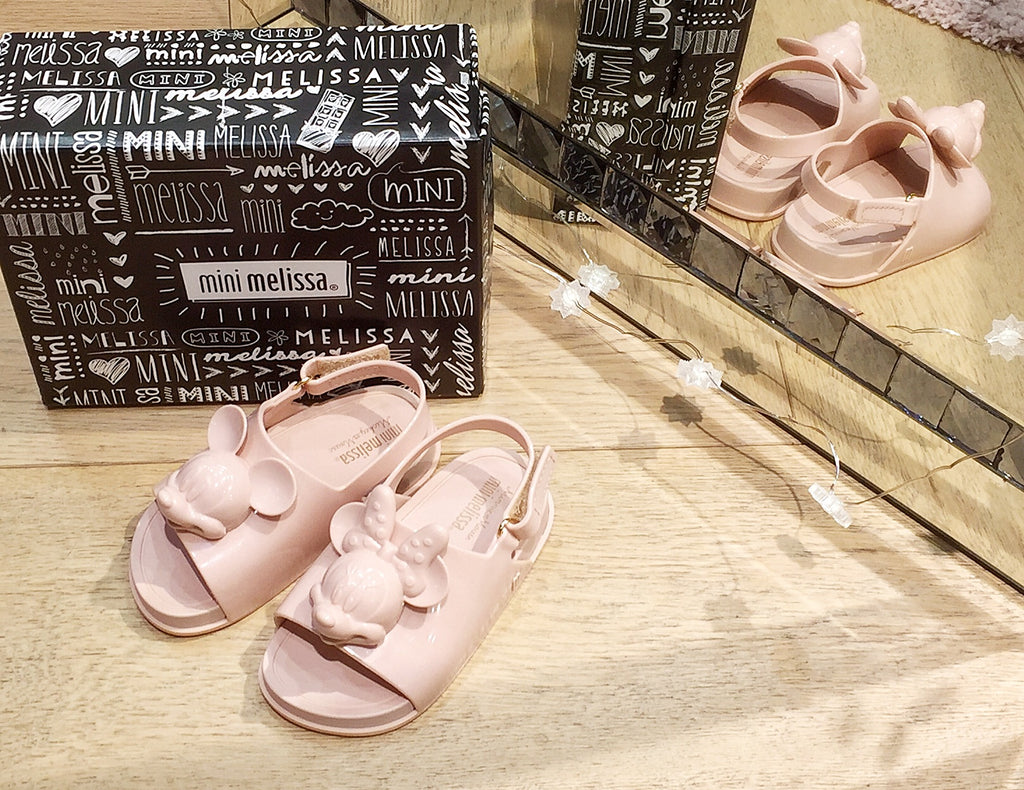 Mini Melissa - Disney  Beach Slide Sandal Nude