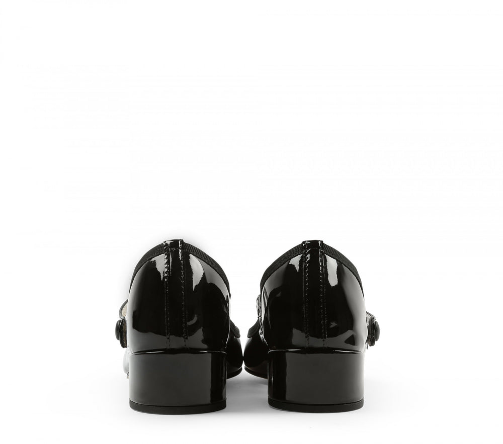 Repetto Paris - Rose Mary Jane Black Patent Heel