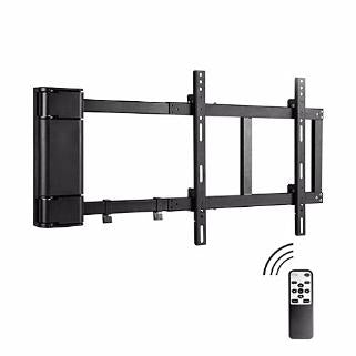 Lithe 90 Degree Remote Control Motorised TV Wall Mount up to 60