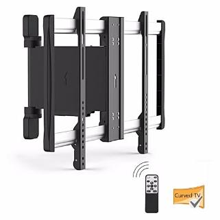 Lithe Motorised Curved & Flat Panel TV Wall Mount - up to 60