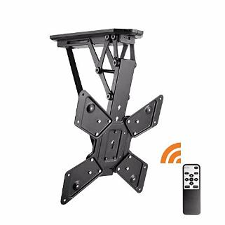 Lithe Remote Control Motorised Flip Down TV Ceiling Mount