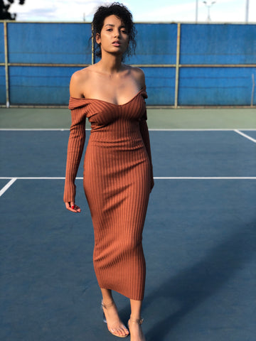 Perfect Fit Ribbed Dress