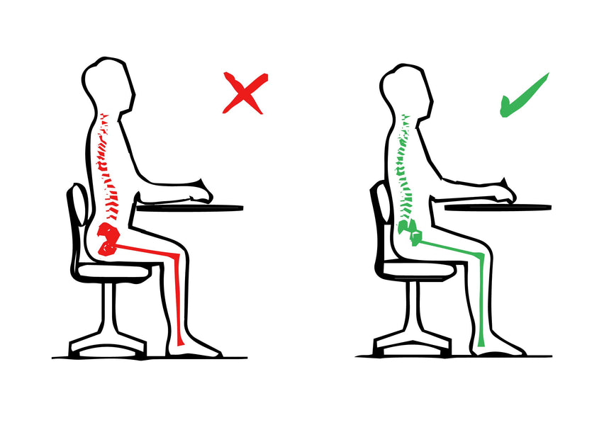 2 Different Ways Sitting Posture Can Be Poor And How To Correct It