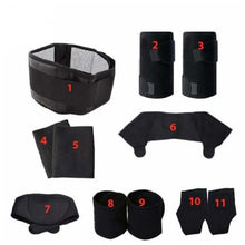 11 Piece Set Posture Corrector Braces For Neck / Shoulder / Knee / Lumbar / Lower Back / Knee / Ankle Back Brace Cerebralbodystore