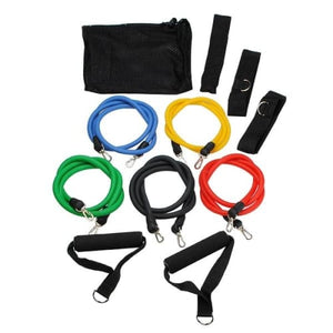 11 Pieces Door Gym With Resistant Bands Exercise Equipment Cerebralbodystore