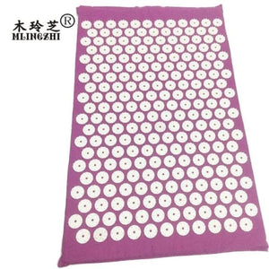 Acupressure Mat And Pillow Set For Back Neck Pain Relief And Muscle Relaxation Cerebralbodystore