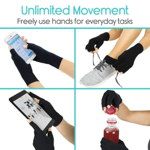 Arthritis Therapy Compression Circulation Improvement Gloves Pair Cerebralbodystore