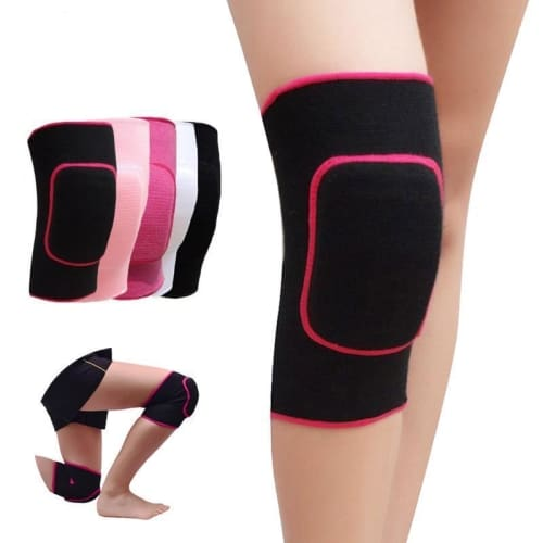 Dance And Sports Soft Knee Pads For Girls - 2 Pieces Knee Brace Cerebralbodystore
