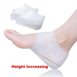 Height Increasing Orthopedic Foot Pain Relief Shoe Insole White Cerebralbodystore