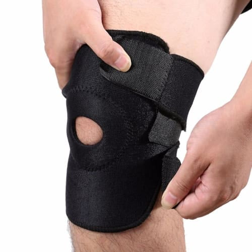 High Density Dual Strap Knee Brace For Sports And Outdoors - Single Piece Knee Brace Cerebralbodystore