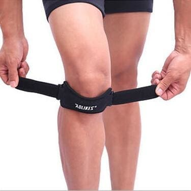 Knee Patella Sports Support Belt Brace Sport Black Cerebralbodystore