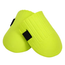 Premium Soft Foam Knee Pads For Sports And Gardening Lime Yellow Knee Brace Cerebralbodystore