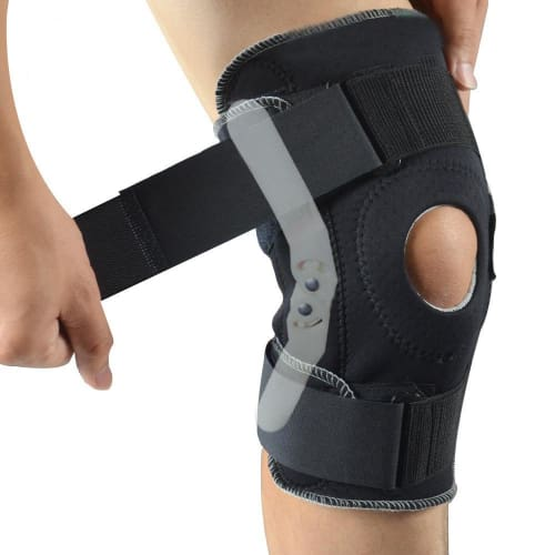 Premium Sports Knee Brace With Hinge Support For Acl Tendon Ligament And Meniscus Injuries Knee Brace Cerebralbodystore
