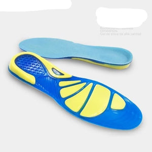 Silicon Gel Shock Absorption Insoles Foot Care For Plantar Fasciitis Heel Spur Cerebralbodystore