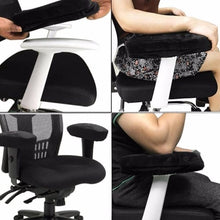 Universal Office Chair Memory Foam Armrest Padding For Elbow Comfort And Support Braces & Supports Cerebralbodystore