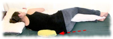 slide sleeping back pain relief cerebralbody