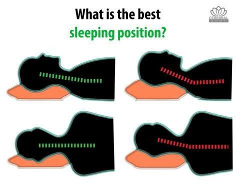 Best Sleeping Position by Cerebralbodystore