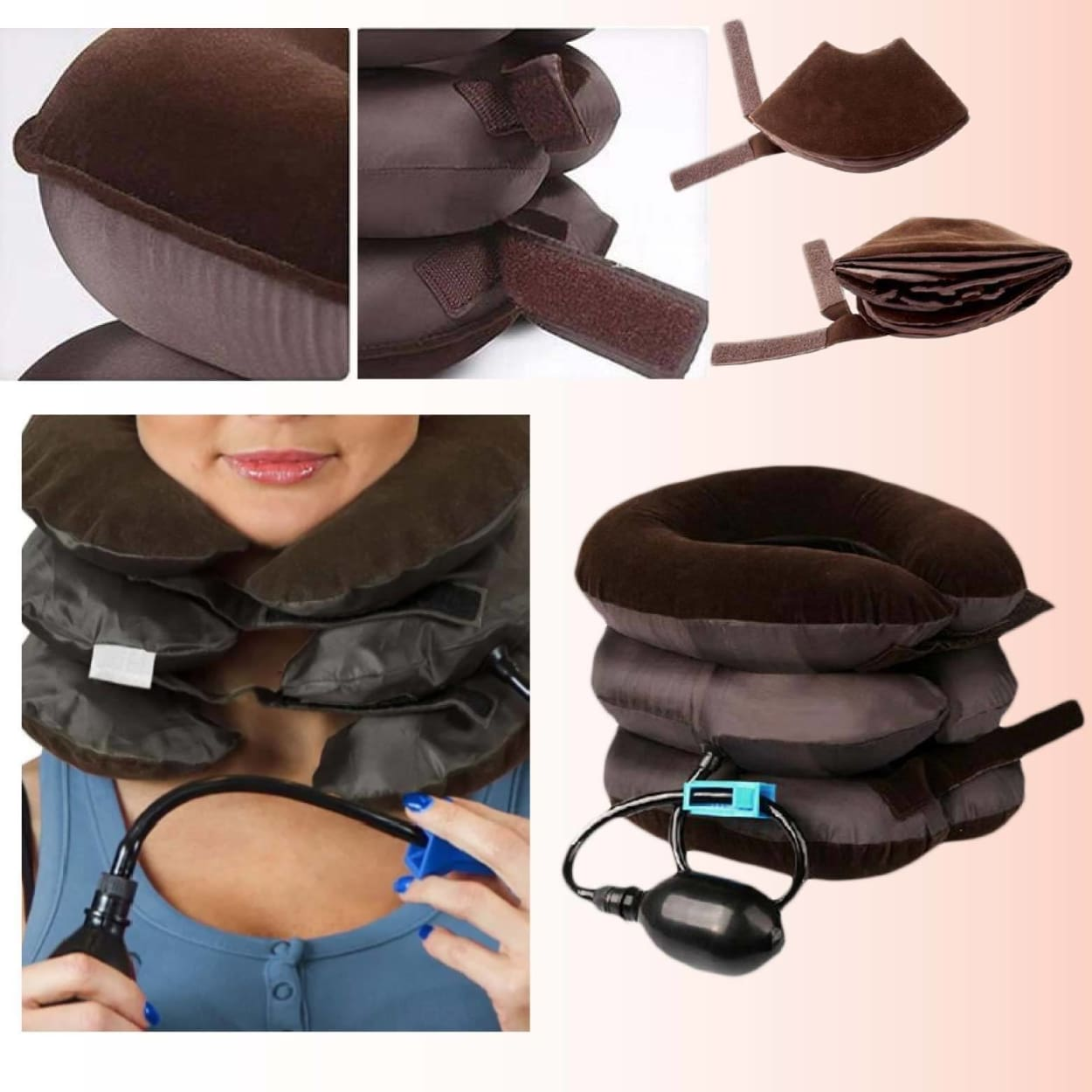 Neck Traction Relief Inflatable Stretching