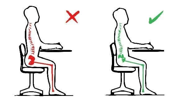 Back Pain Sitting Posture