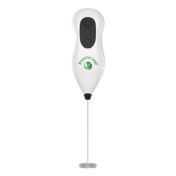 Matcha / Milk Frother, Handheld Battery Operated Electric Foam Maker - PristineLeaf.com