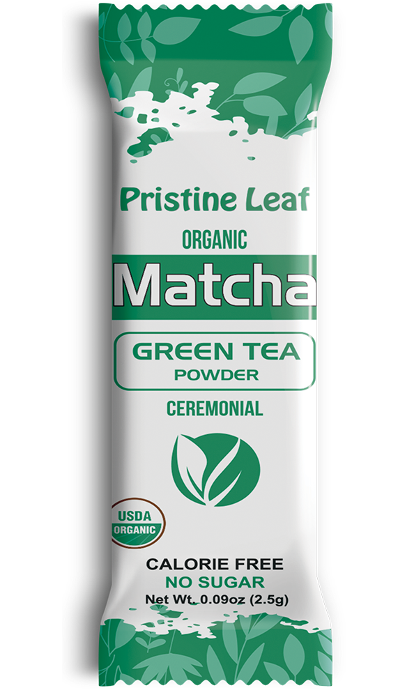 Ceremonial Organic Matcha, 12 Single Servings
