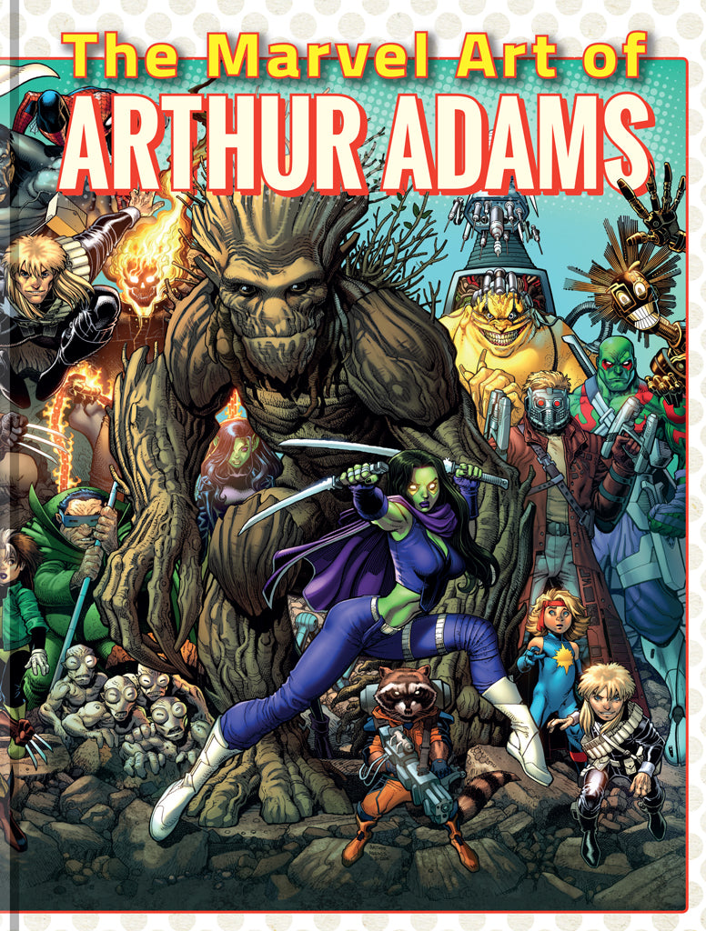 The Marvel Art of Arthur Adams - SIGNED