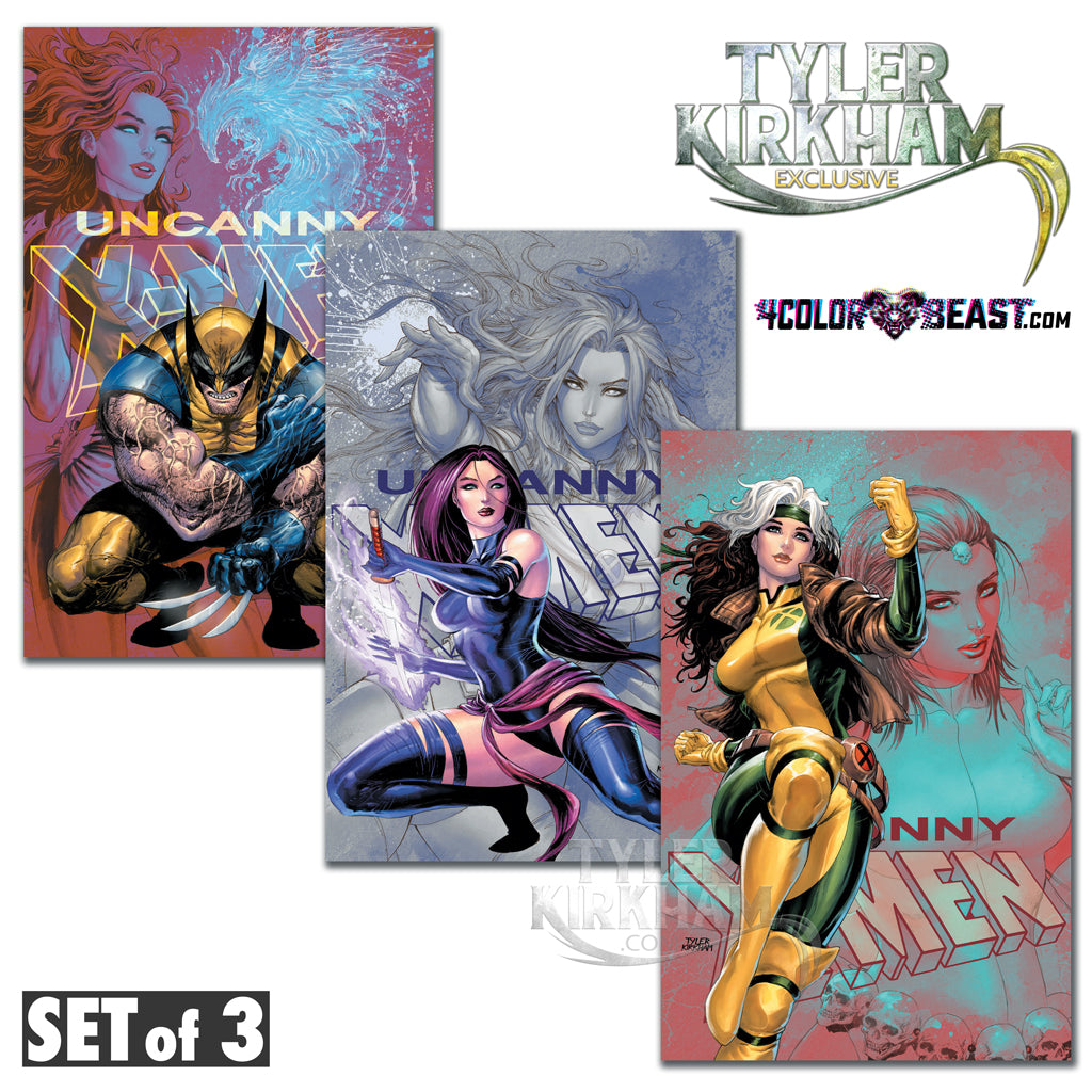 Uncanny X-Men #19 Tyler Kirkham EXCLUSIVE