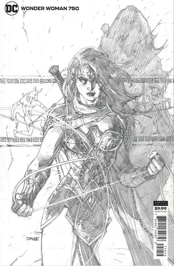Wonder Woman #750 Jim Lee INCENTIVE 1:100