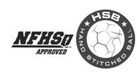 Hand Stictched, NFHS Approved Ball