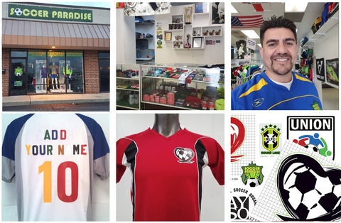 Soccer paradise store front