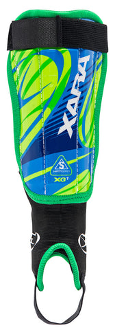 XG1 V4 Shin guard - Green-Royal