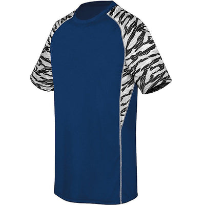 Evolution Youth Jersey - Zebra Printed