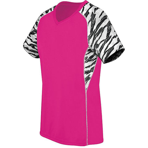 Evolution Female Jersey - Zebra Printed