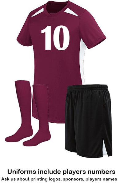 Ladies Hawk Uniform - Includes Player Number