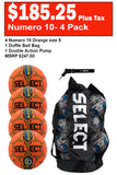 Numero 10 - 4 Pack Soccer Ball