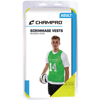 Scrimmage Pinnie - 6 Piece Pack